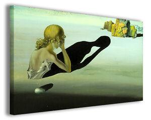Dettagli su Quadri famosi Salvador Dali\' vol VII Stampa su tela arredo  moderno arte design