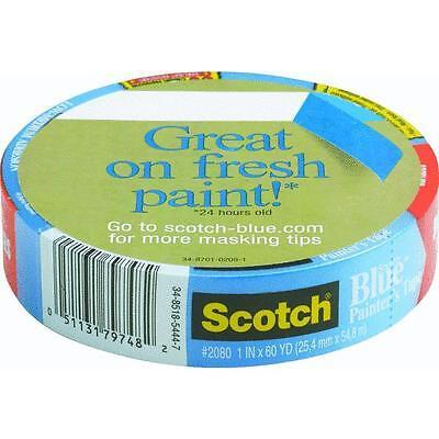 3m scotch safe release masking painter's tape blue