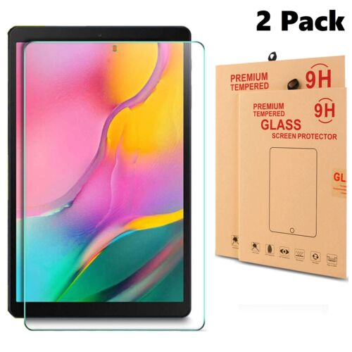 2x Tempered Glass Screen Protector For Samsung Galaxy Tab A 10.1 T510 T515 2019