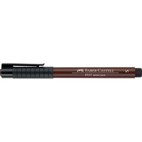 Single Pitt Artist Pen Superfine Sepia Faber-Castell 175