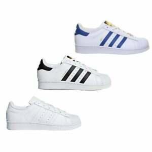 Détails sur Adidas Superstar junior Baskets en différentes couleurs et tailles afficher le titre d'origine