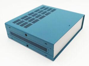 Full-Aluminum-Electronic-Enclosure-Project-Box-Case-DIY-2U-87-x-279-x-305-mm