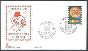 100% De Qualité 1996 Italia Fdc Capitolium Giornata Filatelia No Timbro Arrivo - Edg15 Vif Et Grand Dans Le Style