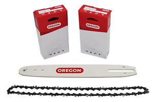 2 OREGON Sägeketten 3//8P-1.3-45 30cm Schwert 120SDEA041 für Dolmar  PS-32C