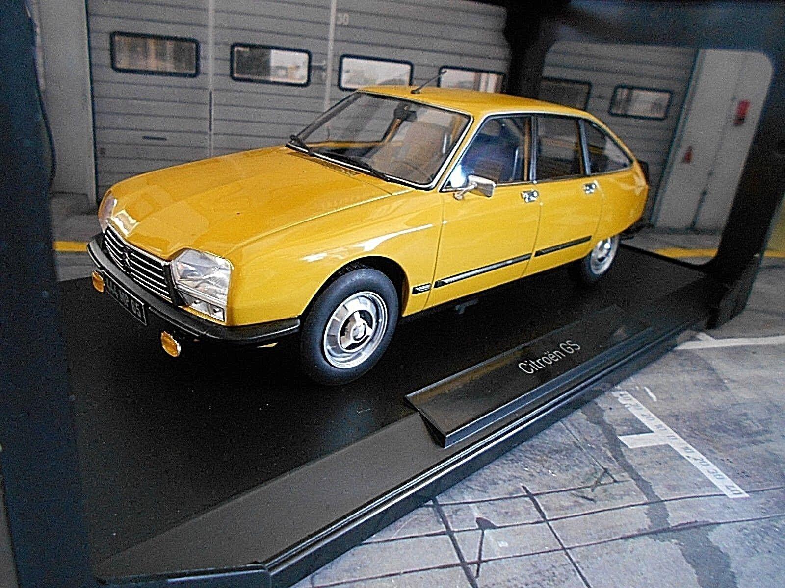 CITROEN GS Berlina x3 SPORT GIALLO giallo 1979 no 181624 NOREV RAR 1:18