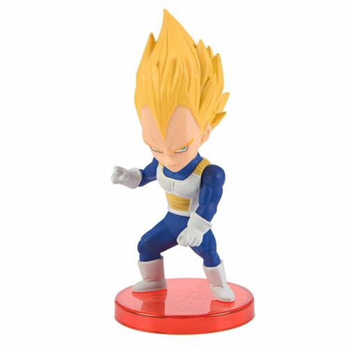SSJ Vegeta Dragon Ball Banpresto WCF Super Saiyans Mini Figure