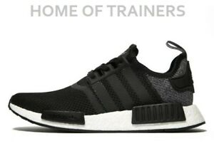 reputable site f2b46 b99e6 Details about adidas Originals NMD R1 Black Men's All Sizes