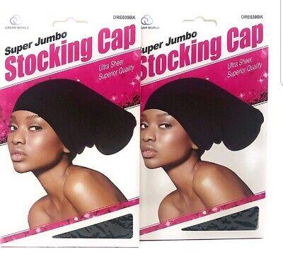 Dreadlocks Jumbo Rasta Stocking Wave Hat Cap Reggae Marley Rastafari FLEX XL//XXL