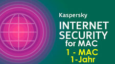 Kaspersky Internet Security for MAC 1-Jahr 1-MAC VOLLVERSION KEY ESD Download