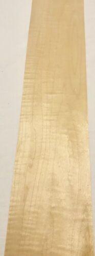 "4 Sheets Maple Wood Veneer 30"" X 6"" 5 Sq Ft"