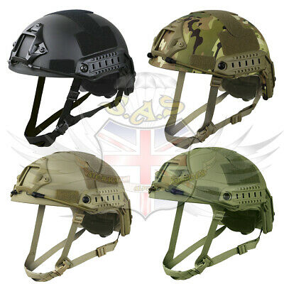 airsoft paintball Militaire Mtp BTP Kombat UK réglable rapide Casque