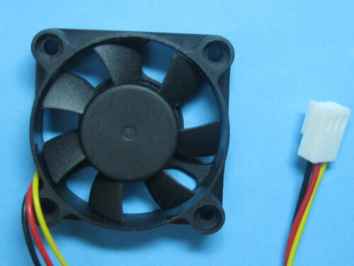 5 pcs Brushless DC Cooling Fan 12V 4510S 7 Blades 45x45x10mm 3pin Sleeve Bearing
