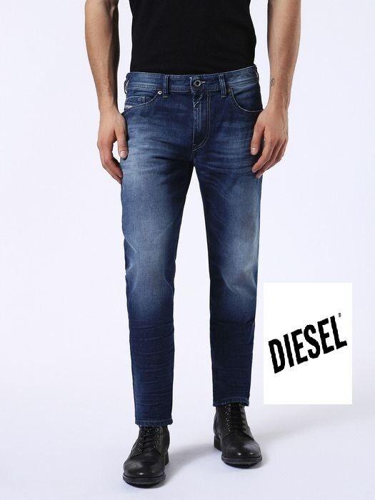 NUOVI JEANS DIESEL thommer 084CV Pantaloni Skinny SLIM Stretch RRP