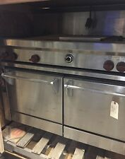 """Wolf 48"""" ASI Range APK48GB Convection Oven and Electric Broiler"""