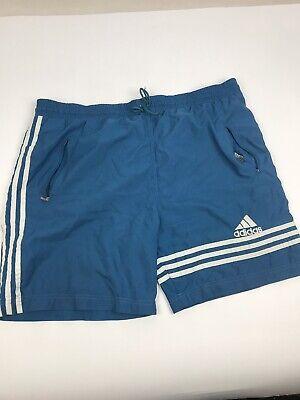 Efficiente Adidas Vintage 1990s Poliestere Nuoto Sport Nuoto Pantaloncini   Sz Grandi-mostra Il Titolo Originale Prezzo Di Liquidazione