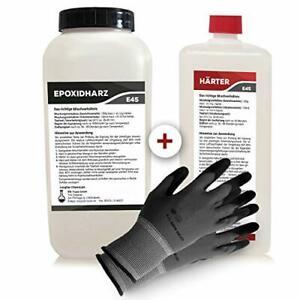 Resine epoxy transparente 3,25 kg | Qualité professionnelle limpide et à...