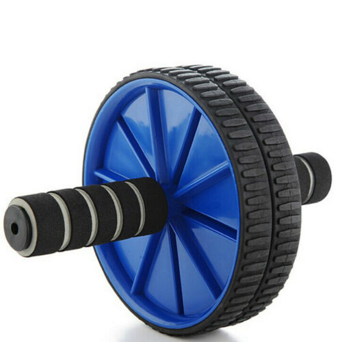 ABS Roller Wheel Abdominal Core Workout Exerciser Fitness Body Machine New