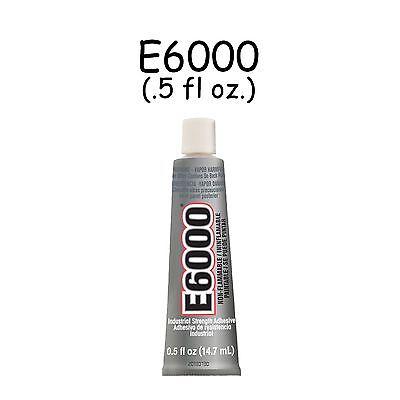 E6000 0.5 oz Tube Multi Purpose Craft Adhesive Glue