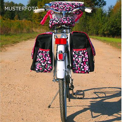 C-BAGS BETSIE double VITRAIL Tasche Gepäckträger 2-er Set verschiedene Muster