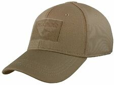 Condor 161080 Flex Tactical Cap Baseball Hat W/ Hook & Loop Fastener for  Patch Brown Large