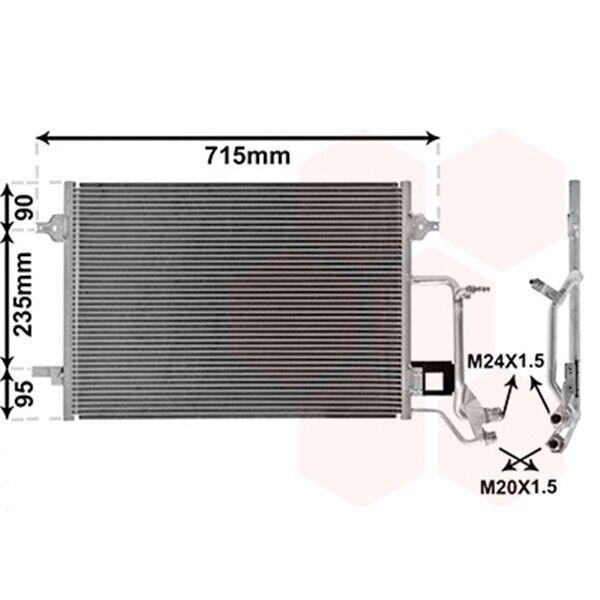 Nissens 94594 Kondensator Klimaanlage
