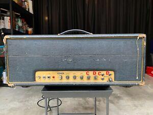 Harry-Kolbe-Modified-100-watt-Marshall-Super-Lead-Amplifier-vintage-guitar-amp