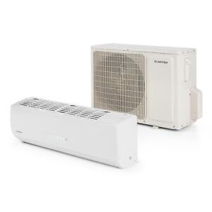 climatiseur split klarstein windwaker inverter chaud froid eco a t l commande ebay. Black Bedroom Furniture Sets. Home Design Ideas