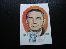 France - Card 1er Day 22/2/1975 (Edmond Michelet) (cy43) French