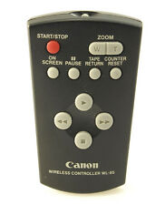Canon Camcorder Remote Wireless Controller WL-85, POST FREE (within UK)