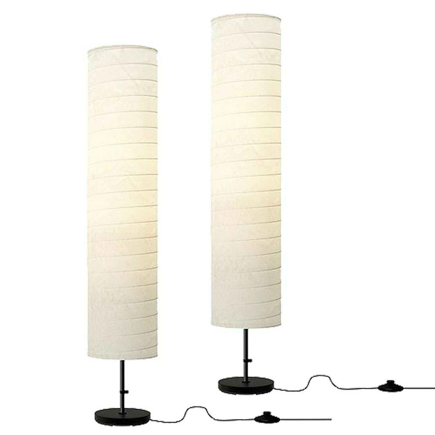 Ikea Regolit Floor Lamp Arc White For