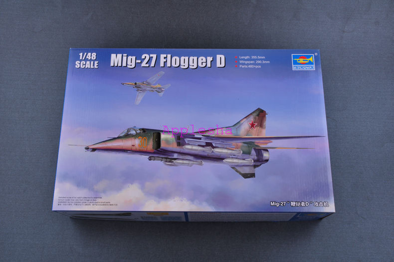 Trumpeter 05802 1 48 Mikoyan Mig-27 Flogger D