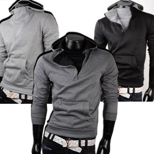 Japan Felpa shirt 40014 Cappuccio Maniche Lunghe Sweat Con Quadri Maglione style dRq8XOOw