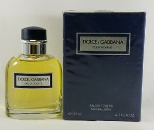 3b7a4e5612e26b VINTAGE DOLCE   GABBANA POUR HOMME EDT 125ml spray, MADE IN ITALY ...