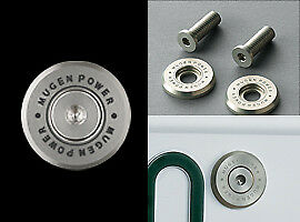 MUGEN-Number-Plate-Bolts-For-CIVIC-TYPE-R-EURO-FN2-75700-XG8-K0S0