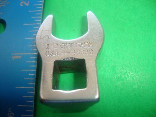 "Craftsman USA V-43622 3//8/""DR Crowfoot 1//2/"""