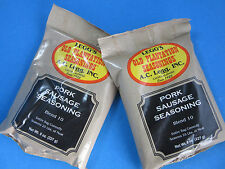 ORIGINAL Flavor Old Plantation Pan Sausage Seasoning #10 for 50 LBS Venison Pork