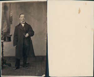 à identifier CDV vintage albumen,  Tirage albuminé  6,5x10,5  Circa 1870