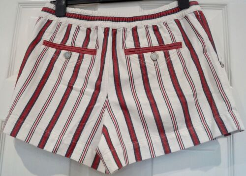 Shorts Blue Voltaire Drawstring Cream 40; L Waist Cotton Zadig Striped amp; Red wzq5OI