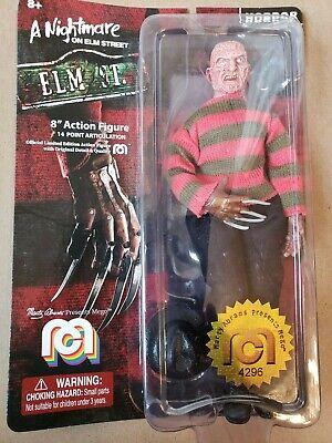 "A Nightmare on Elm Street Freddy Krueger 8/"" Action Figure NEW HORROR Figurine MEGO"