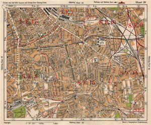 Se Colorado Map.Se London Peckham Camberwell Hatcham Denmark Hill Surrey Canal