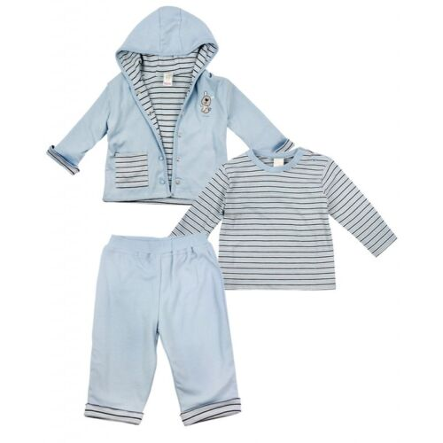 """GREAT ALL SEASON OUTFIT BABY BOYS /"""" EX ADAMS/"""" 3 PIECE LITTLE PUP OUTFIT"""