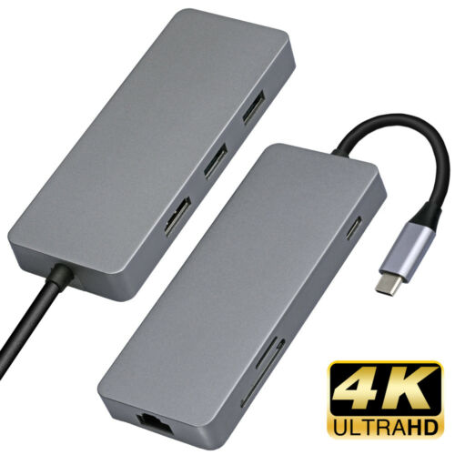 """7-in-1 USB C Hub//Adapter Features 4K HDMI Output for MacBook Air 13/"""" A1932 2018"""