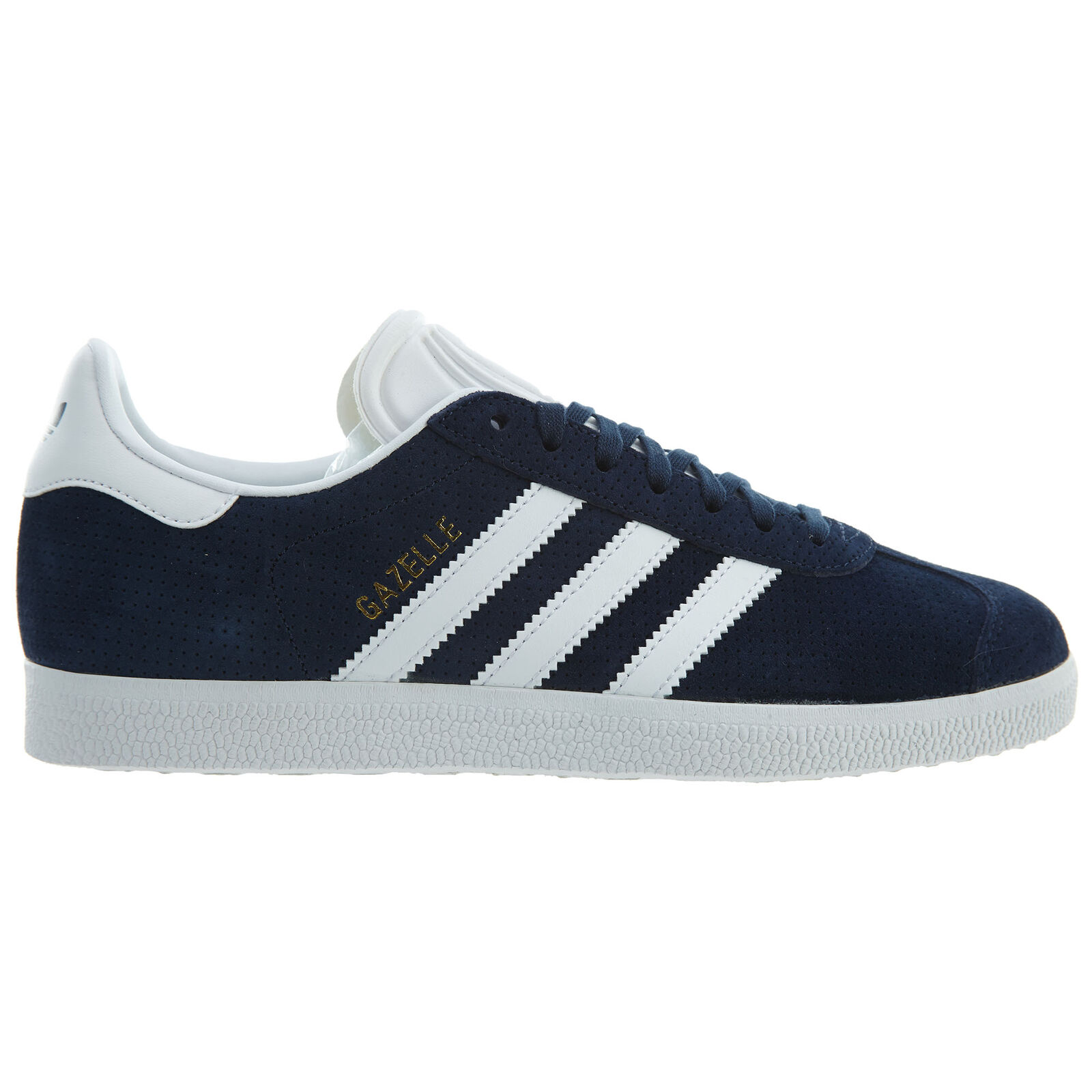 Adidas Gazelle Womens BY9359 Collegiate Navy White Pigskin Nubuck shoes Size 6
