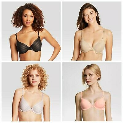 Maidenform Self Expressions Women/'s Bonded Push-Up Bra-Various Colors//Sizes-S452
