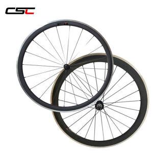 CSC 23mm width 50mm clincher 700c full carbon cyclocross road bike rims