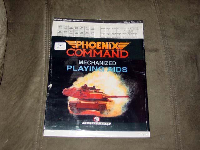 Phoenix comandos mecanizados jugando SIDA - Juegos De Vanguardia