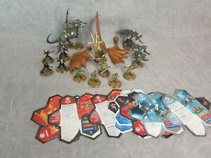 Hasbro-41712-Heroscape-Rise-of-the-Valkyrie-Replacement-Parts-14-Figures-8-Cards