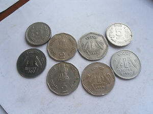 India Rupees 12 amp 5 Coins Mixed Condition as shown - <span itemprop=availableAtOrFrom>Ross-on-Wye, United Kingdom</span> - India Rupees 12 amp 5 Coins Mixed Condition as shown - Ross-on-Wye, United Kingdom