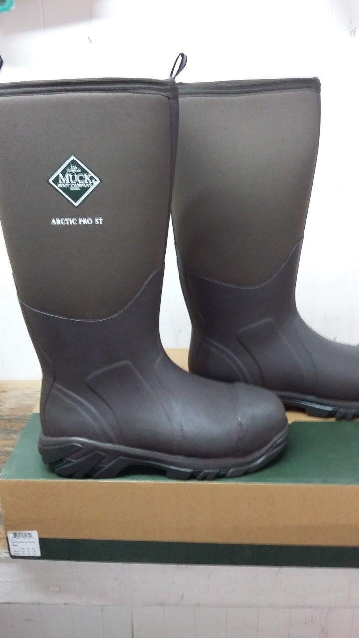 Para Hombre Muck bota Arctic Pro acero dedo botas