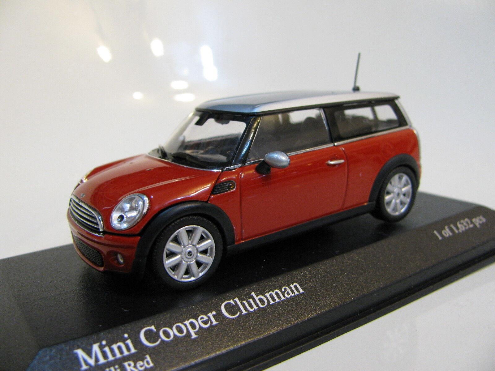1 43 Minichamps Mini Cooper Clubman Diecast